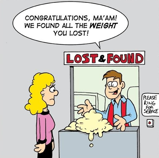 FUNNY WEIGHT LOSS JOKES GALORE AND MORE!, Weight Loss funny cartoons from Teluguone.com and many more cartoons