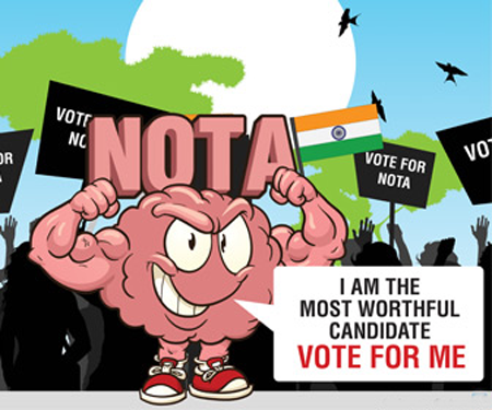 Vote for me Jokes and Humor Election Latest Jokes and Cartoons and Political Satire NOTA
