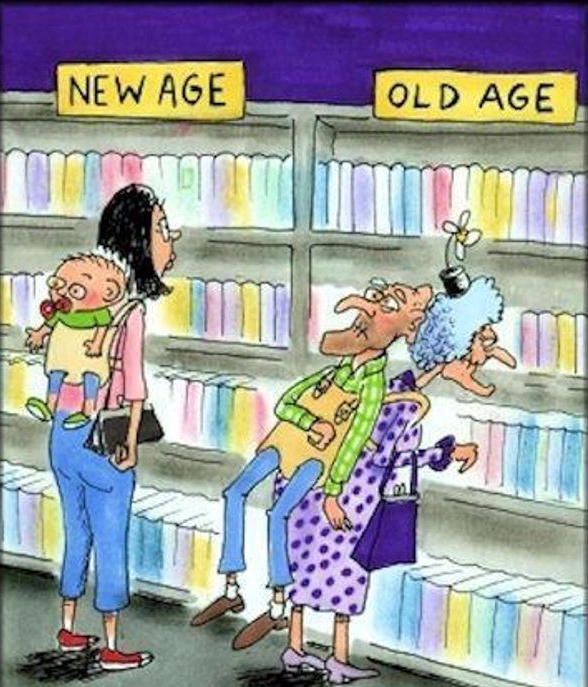Funny Old People Jokes More Funny Messages Old Age Ecards: Cartoons New Vs Old Circle Of Moms