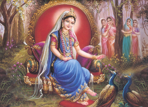 This is very popular prayer which is offered and dedicated to Shri Radha, the divine consort of Shri Krishna, Radhais a manifestation of Goddess Ladshmi
