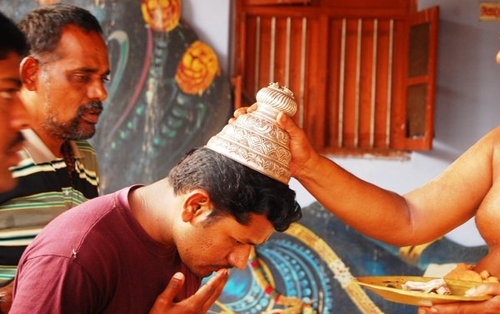 Why satagopam is placed on the head after the darshan of the lord. Satagopam on Head and its Benefits