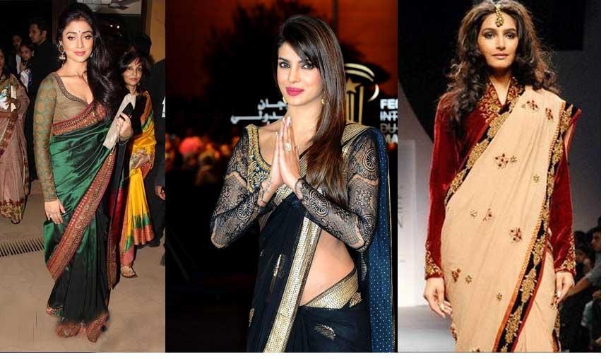 Fashionable Full Sleeve Saree Blouse Full Saree Blouse