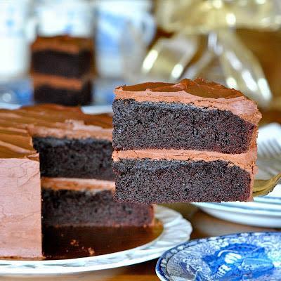 how to make black magic cake