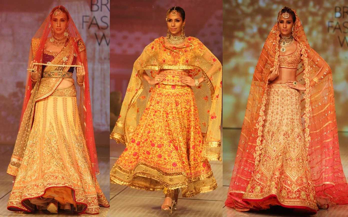 Red wedding dresses indian