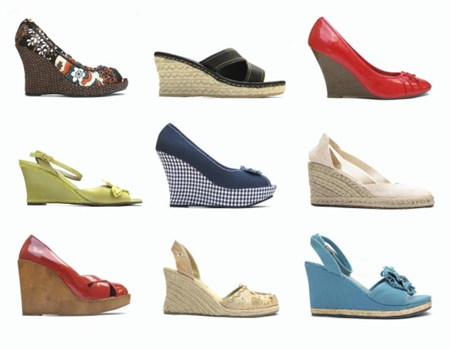 f59fe64906a Wedges – no we didn t mean the potatoes that we eat at MacDs but the sleek  heels which are currently a rage along with their stilettos and pump sisters .