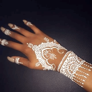 White Henna The In Thing Now White Henna The In Thing Now New