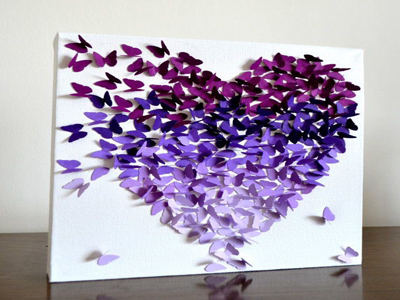 Butterfly Crafts With Paper Butterfly Crafts With Paper How To