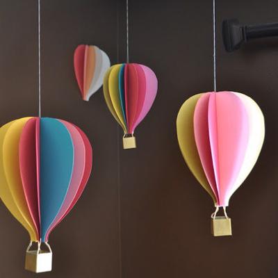 Mini hot air balloon crafts mini hot air balloon crafts for How to make a small air balloon
