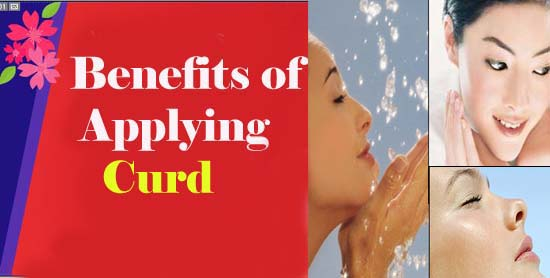 Benefits of Applying Curd