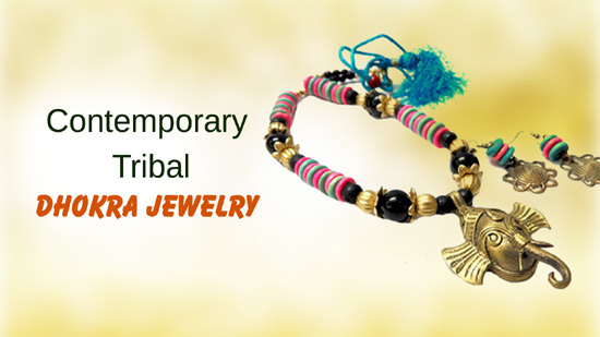 Contemporary Tribal Dhokra Jewelry