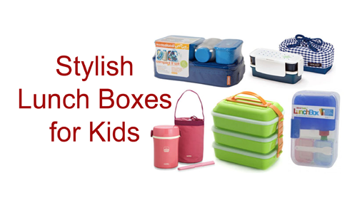 Stylish Lunch Boxes for Kids
