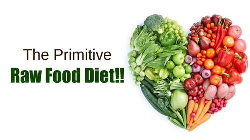 The Primitive - Raw Food Diet!!