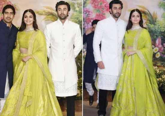 Ranbir and Alia in love
