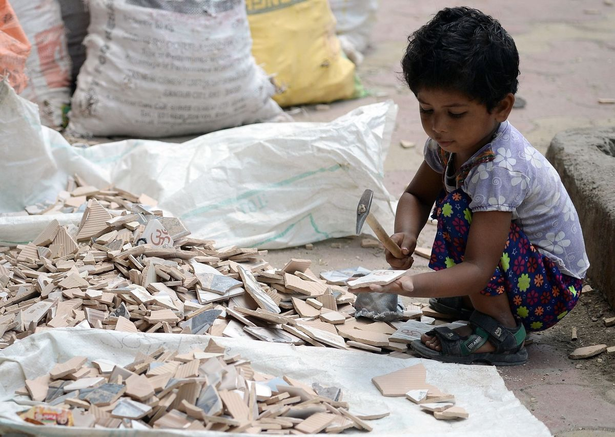 child labour in india Child labour in india is when indian children work for money, on a part or full-time basis the practice deprives children of their childhood, and is harmful to their physical and mental development.