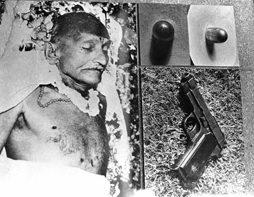 Image result for mahatma gandhi death