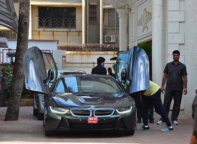 Shilpa Shetty Buys New Hot Wheels