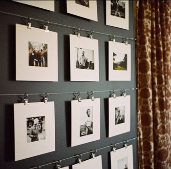 Ideas For Hanging Pictures Innovatively | Ideas for hanging pictures ...