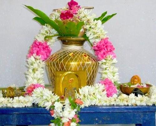 how to make kalasam for pooja
