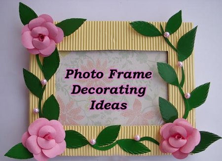 watch our creative expert naveen show us how to make your plain photo frames more interesting and attractive with just a few easily available material like