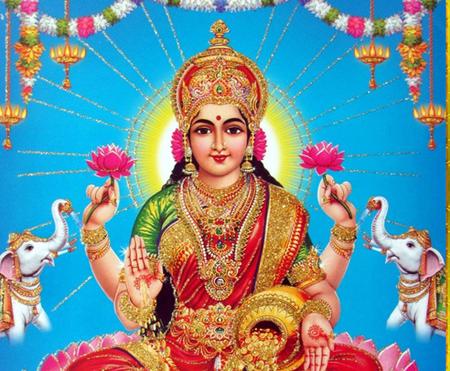 Lakshmi Puja (Chanting of Lakshmi Sahasra Namam)