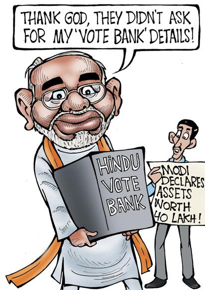 vote bank | Narendra Modi's Hindu Vote Bank Photo | Very
