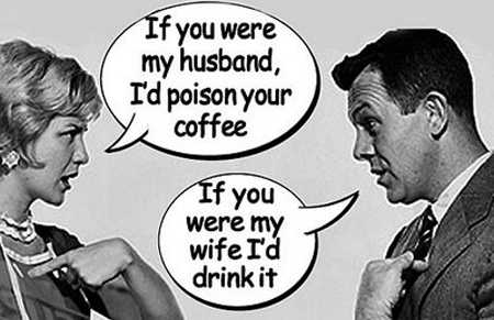 Image result for wife poisoning husband joke
