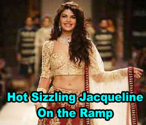 Hot Sizzling Jacqueline On the Ramp
