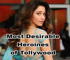 Most Desirable Heroines of Tollywood