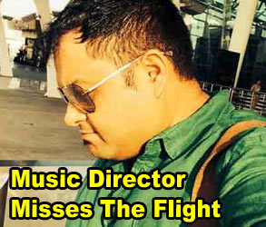 Music Director Misses The Flight