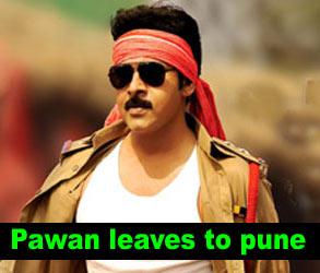 Pawan leaves to pune