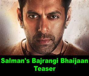 Salman Bajrangi Bhaijaan Teaser