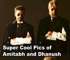 Super Cool Pics of Amitabh and Dhanush
