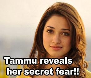Tammu reveals her secret fear