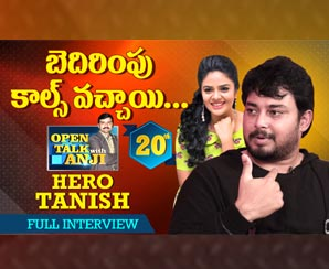 Hero Tanish Exclusive Interview   Open Talk with Anji  