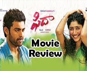 fida Movie review Tone