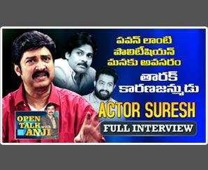 Actor Suresh Exclusive Interview | Open Talk with Anji |