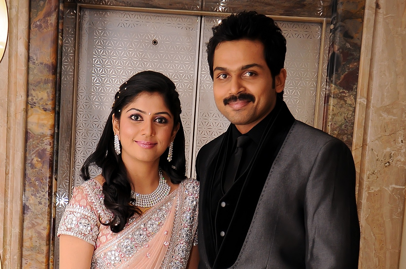 Actor Karthi reception, Karthi reception photos, Karthi pics, Karthi Rajini reception photos, Karthi Rajini pics, Karthi marriage wedding reception photos