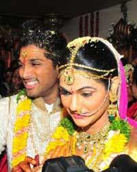 allu arjun marriage photos