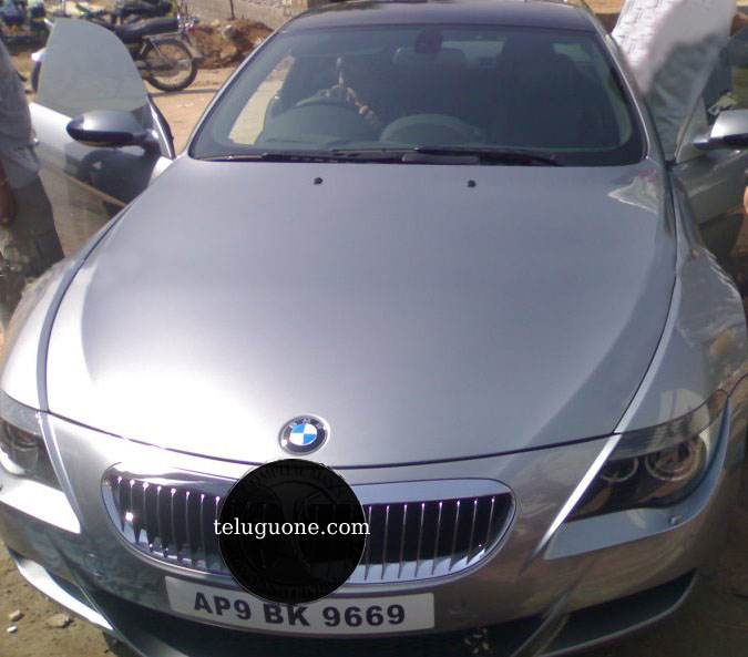 Bmwcarimage: Nagarjuna's 1 Crore BMW Car Number 9669