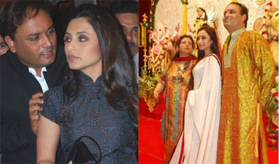 Rani Mukherjee's Brother Arrested for Molesting TV Actress