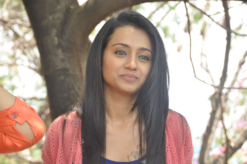 Trisha Hot, Trisha Latest Stills, Trisha New Movie Opening, Trisha New Movie, Trisha New Telugu Movie