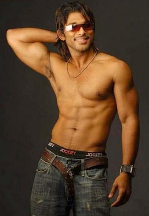 Six Pack Body Spinning Tollywood Heroes