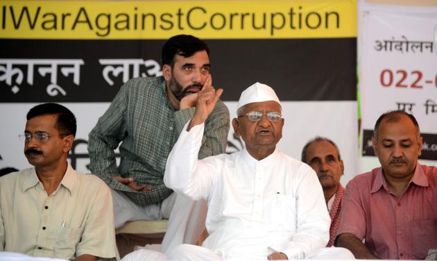 anna hazare fast, anna crusade against corruptin, anna hazare indefinite fast, anna hazare indefinite fast day 4, anna hazare health condition, anna hazare team health condition, anna fast enters day 4