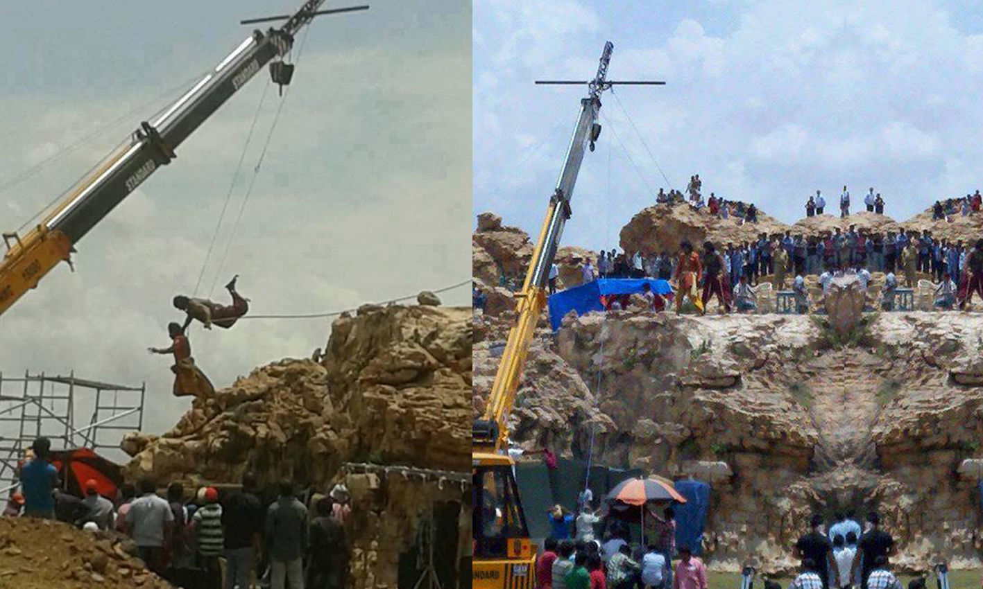 bahubali shoot started at kurnool