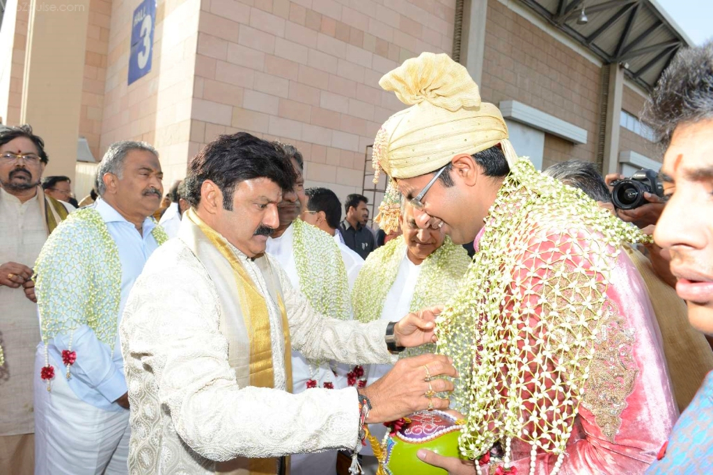Balakrishna Daughter Marriage Photos, balakrishna daughter tejaswini marriage photos, balakrishna daughter tejaswini marriage, tejaswini marriage photos.