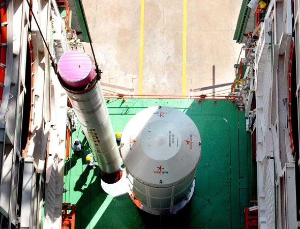 Isro Launches New Spy Satellite Risat 1