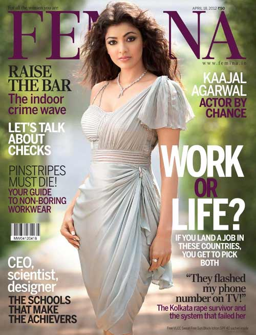 Question Kajal agarwal cover magazine have