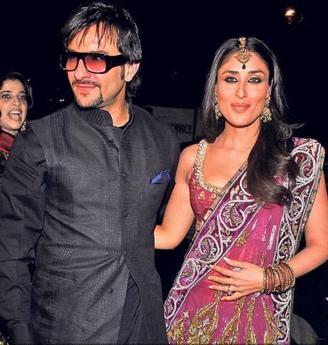 Kareena Saif Wedding Reception Marriage Kapoor