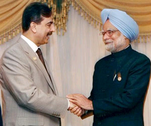 Talks with Manmohan 'positive' Gilani | Prime Minister Manmohan ...