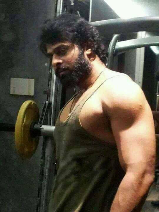 Prabhas Gym Body Photo , Prabhas body photo, Hero Prabhas New Gym body photo, Prabhas New Bahubali Body Photo.